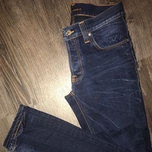 Nudie Jeans  Grim Tim Frosty Blue Size: W30 L32